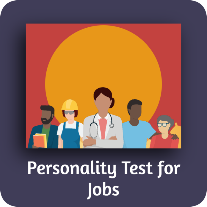 Personality Test for Jobs
