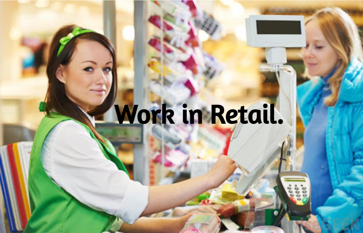 Work in Retail