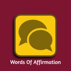 Words Of Affirmation Result Image